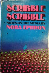 Nora Ephron Scribble Scribble cover